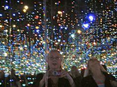 Inside Yayoi Kusama's Infinity Mirrored Room, The Broad Museum, LA