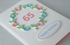 65th birthday card                    £6.50