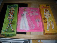 Vintage Magic Paper Doll Lot Whitman Bride and Groom Barbie Mattel Buffy Jody   eBay