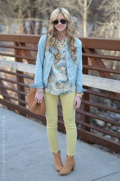 Love outfit + her hair!