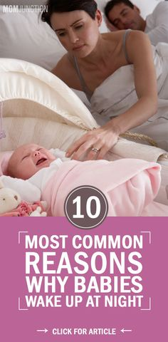 10 Most Common Reasons Why Babies Wake At Night Why Does My Baby Suddenly Wake Up At Night? Here are some very common reasons that could be causing your baby to wake up at night The Babys, Get Baby, Baby Sleep, Toddler Sleep, Preparing For Baby, After Baby, Baby Arrival, Baby Health, Newborn Care
