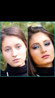 natural beauty Before & After