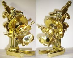 OUTRAGEOUS 1896 CARL ZEISS JENA ANTIQUE MICROSCOPE STAND IIa vintage #CarlZeiss