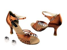 Ladies Women Ballroom Dance Shoes from Very Fine C6033 Black Leather 2.5 Heel