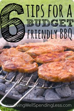 Planning to grill this summer? You will not want to miss these 6 super smart tips for saving on everything from meat to seasonings. It's the perfect way to enjoy a backyard barbecue without blowing your budget!