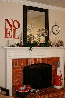 Windgate Lane: A Christmas Mantel.