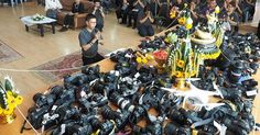 Photography Students In Thailand Give Thanks With An Altar Of Dslr Gear #photography #camera http://petapixel.com/2016/12/06/photography-students-thailand-give-thanks-altar-dslr-gear/