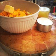 Butternut Squash Mac & Cheese. Half the calories, double the flavor