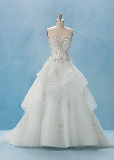 Belle Gown - Collection 2   Alfred Angelo Bridal Collection   Disney's Fairy Tale Weddings & Honeymoons