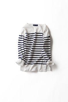 Kyoko Kikuchi's Closet | セントジェームスファミリーから、 七分袖バージョンのTシャツ