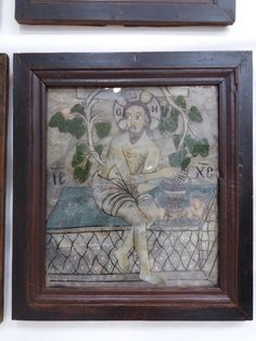 True Vine, Religious Art, Vines, Religion, Icons, Frame, Glass, Painting, Home Decor