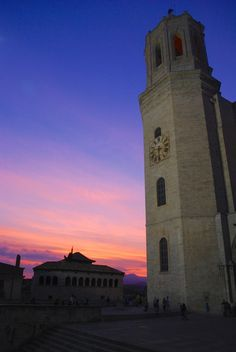 Sunsets Over Girona, Spain -In Situ Travel