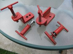 Welding table clamps (similar to Miller) - The Garage Journal Board