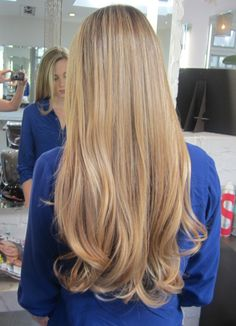 Fall Hair Colour Trends : Honey Bonde by colorist Lauren Ashley, California | Long and Blonde