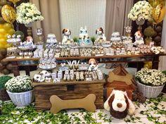 Lembrancinhas e Festas: Festa tema Cachorrinhos