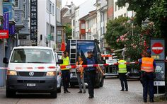 Serangan menggunakan Gergaji Lukai Lima Orang di Swiss : Seorang pria yang dilaporkan bersenjatakan gergaji mesin telah melukai setidaknya lima orang di kota utara Swiss sehingga memicu perburuan besar-besaran setelah serang