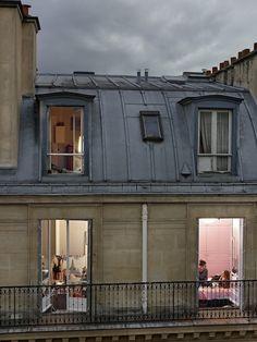 .Gail Albert Halaban, 'Paris Views'.