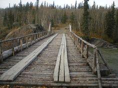Alaska Highway, Railroad Tracks, Explore, Train Tracks, Exploring