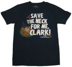 Save the Neck for Me, Clark T-shirt - Blue