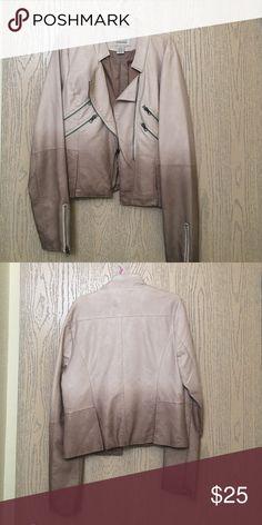 Blazer Ombré leather blazer BKE Jackets & Coats Blazers
