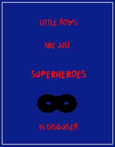 Made this for my son's bedroom door last year...Little Boy Superhero Sign