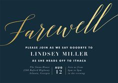 Farewell Invite Picmonkey Creations Farewell Party Invitations