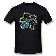 Jahei Custom NASA Short Sleeve Tshirt For Man Black Large