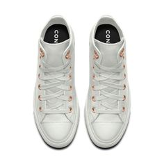 b8a978323c01 Converse Custom Chuck Taylor All Star Metallic Leather High Top Shoe  Converse Chuck Taylor Leather