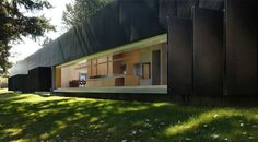 Linear House by Patkau Architects |  Sint-Denijs-Westrem, Belgium