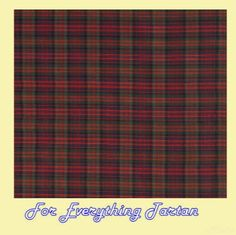MacDonald Modern Mini Tartan Dupion Silk Plaid Fabric Swatch  by JMB7339 - $40.00