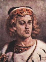 Bolesław IV (1125 - 1173). High Duke of Poland from 1146 until his death in 1173. He married twice and had one child.