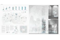 """ WAYFINDING AND COLLECTION "" - Tokyo Vertical Cemetery competition finalist"