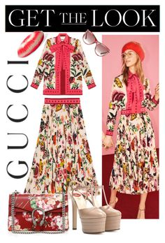 """""""Presenting the Gucci Garden Exclusive Collection: Contest Entry"""" by anitamauro ❤ liked on Polyvore featuring Gucci and gucci"""