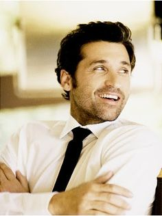 ahh McDreamy. I think you are adorable. Even when you were the nerd with big hair.