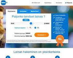Loan immediately to the account. Click here to know more http://www.vertaapikalaina.fi/