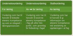 Vurdering af læring. Norsk inspiration