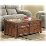 Woolwich Trunk Coffee Table with Lift-Top