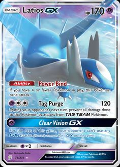 Latios-GX (Unified Minds UNM 78) — PkmnCards