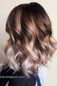 18 medium length hairstyles for thick hair - trendy medium length hairstyles for thick . - 18 medium length hairstyles for thick hair – trendy medium length hairstyles for thick … , - Best Ombre Hair, Brown Ombre Hair, Ombre Hair Color, Box Braids Hairstyles, Short Bob Hairstyles, Long Thin Hair, Curls For Long Hair, Thick Hair, Bobs