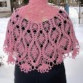 Amazing Cape For Summer Evenings          The clear pattern of this Amazing Cape + 28 Other Beautiful Knit and Crochet Designs, are in: ...