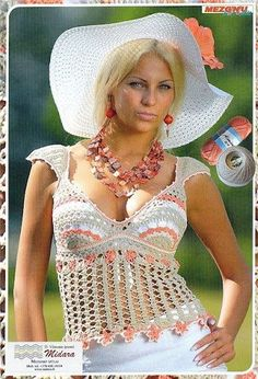 Crochet summer/spring/fall vest/tank top -    liveinternet.ru/users/el_75/post265672141/