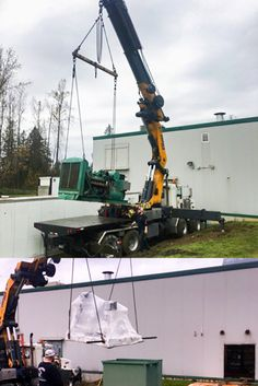 Out with the old, and in with the new! A client replaces their old gen set with a NEW 200 kW Blue Star Power System.  Contact us today 1-604-746-0606  #generatorsuppliers #generatorsales #generators #BlueStarPower #PRIMAPowerSystems #turnkeyinstallations #generatortradein #gensets #powersystems #customgenerators #generatorsolutions Generators For Sale, Fighter Jets, Old Things
