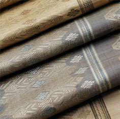 ALIA BILGRAMI Natural elegance  [Laos textile, Laos silk, French silk]