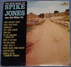 New Band of Spike Jones Plays Hank Williams Hits Dixieland Jazz LRP-3401 #Dixieland