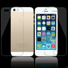 Premium Real Tempered Glass Film Screen Protector iPhone 5 5S SE 6/6S 7-7plus X #Apple