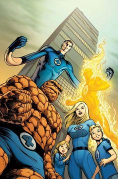 Fantastic Four by Alan Davis