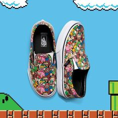 VANS | CLASSIC SLIP-ON (NINTENDO) SHOES (SUPER MARION BROS)