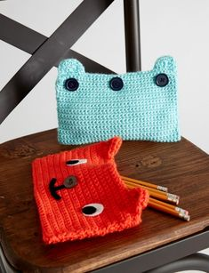 Grin and Bear It Case - Patterns | Yarnspirations