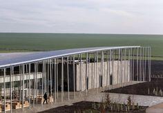 Stäbe und Steine - Besucherzentrum für Stonehenge