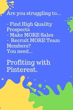 """Pinterest is a powerful place to find high quality prospects and get them to raise their hands and say...  """"YES, I'm interested in what you have to offer.""""  I particularly love it because LinkedIn and Pinterest are perfect partners.  You can use Pinterest to grab your prospect's attention, then link your Pin directly to a post, video, or article on LinkedIn."""